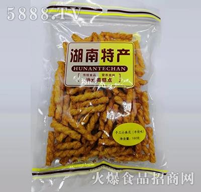 仟仟嘴湖南特产手工小麻花串烧味160g