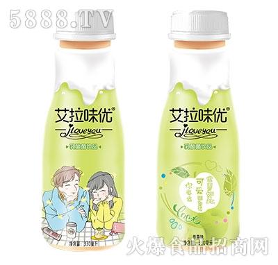 艾拉味优乳酸菌饮料苹果味330ml