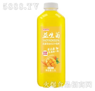 摇摇潮饮益生菌发酵芒果汁1.5L