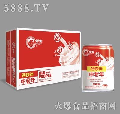 光友钙铁锌中老年复合蛋白饮料