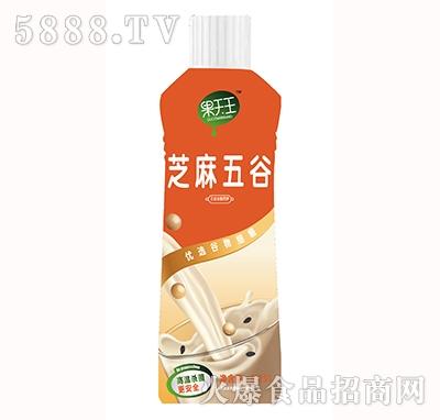 果天王芝麻五谷豆奶复合饮料1.25L产品图