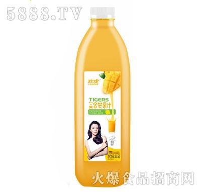 欢虎复合芒果汁1.25L