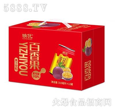 映优百香果果汁饮料310ml×12罐产品图