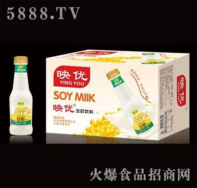 映优豆奶饮料产品图