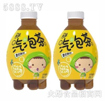 吉派气泡茶泰式青柠碳酸饮料330ml