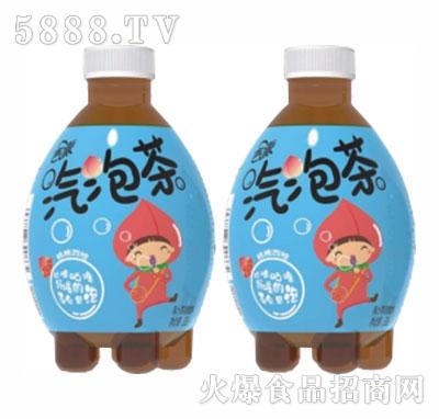 吉派气泡茶桃桃西柚碳酸饮料330ml