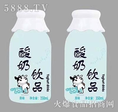 庆耀酸奶饮料原味味350ml