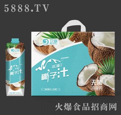 卫享椰子汁1LX6