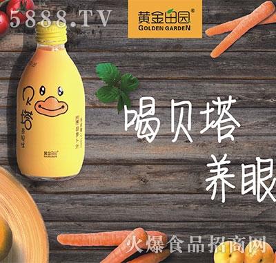 黄金田园贝塔胡萝卜汁产品图