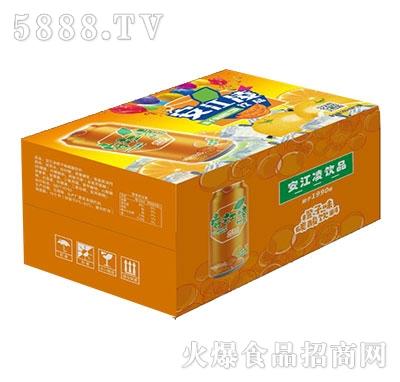 安江凌橙子味碳酸饮料