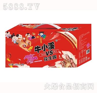 牛小溪vs花生露复合蛋白饮料300mlx10瓶