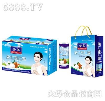 金�b果仁杏仁露植物蛋白�料(三件�b)