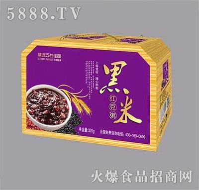黑米�t豆粥320g(八角�Y盒)