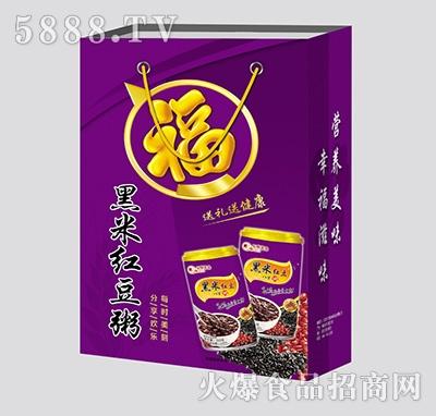 黑米�t豆粥(�Y盒)