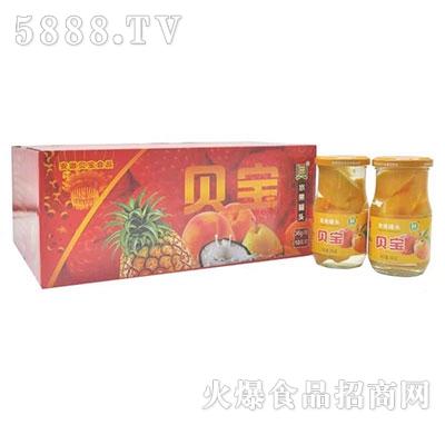 贝宝菠萝水果罐头