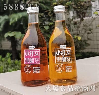 百芝源小纤女果醋茶268ml