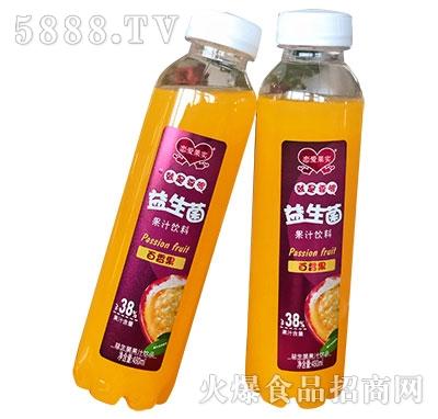 恋爱果实益生菌百香果汁饮料480ml