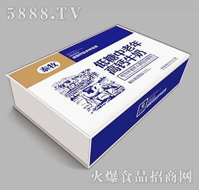 泰牧低糖中老年高钙牛奶250ml×20箱装产品图
