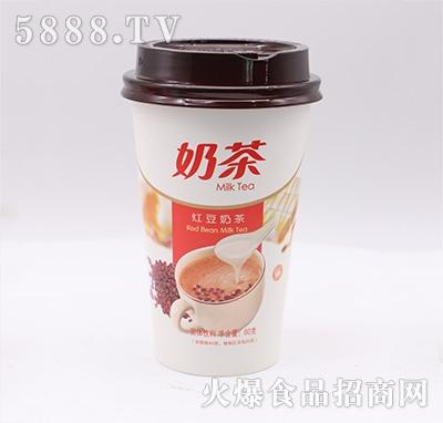 红豆奶茶60克杯装产品图