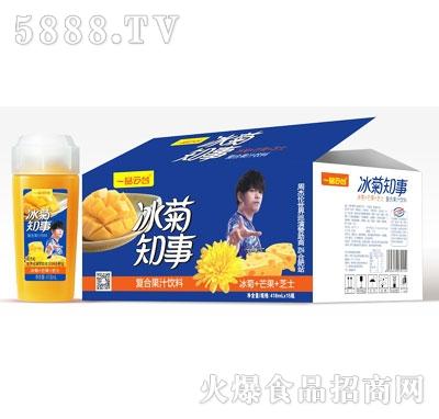 一品云台冰菊知事复合果汁饮料(冰菊+芒果+芝士)418mlX15瓶