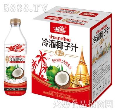 花皇冷灌椰子汁1.25LX6