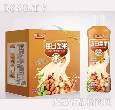 领鲜壹部每日坚果乳饮料1.25×6瓶