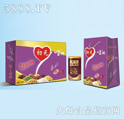 初元八宝黑米紫薯粥320g