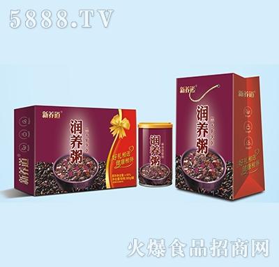新养道润养粥黑米紫薯粥320g