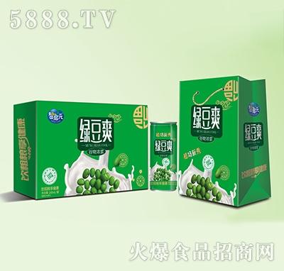 智启元绿豆爽粗粮饮品240ml