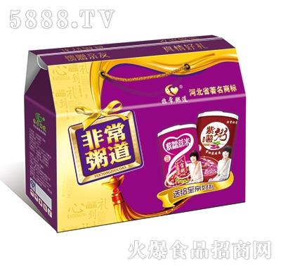 非常粥道铁罐八宝粥礼盒310gx6罐x4提产品图