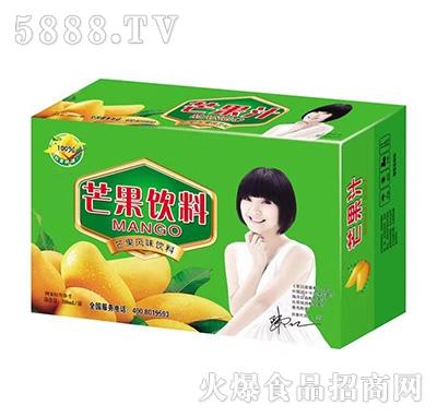 庞迪芒果汁饮料箱装