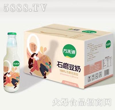 万禾源石磨豆奶248mlx24产品图