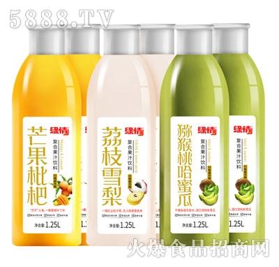 缘情复合果汁饮料1.25L