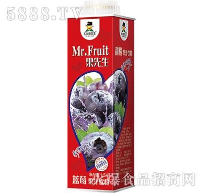 1.5L×6玉川果先生保鲜屋蓝莓汁饮料