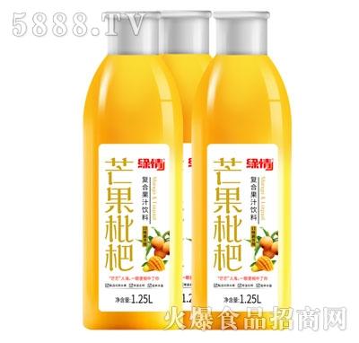 缘情芒果枇杷复合果汁饮料1.25L