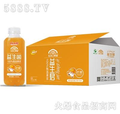 410ml×15玉川果园复合益生菌芒果汁饮料