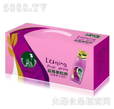 缘情蓝莓果汁饮料320mlX12