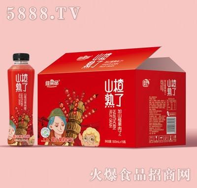 维果命山楂熟了山楂果汁500mlX15