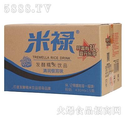 米禄发酵糯米清润银耳味饮品430ml×15瓶产品图