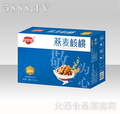金娇阳燕麦核桃风味饮料250mlx15罐产品图