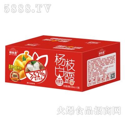 维他星杨枝甘露发酵型复合果汁饮料388mlX15