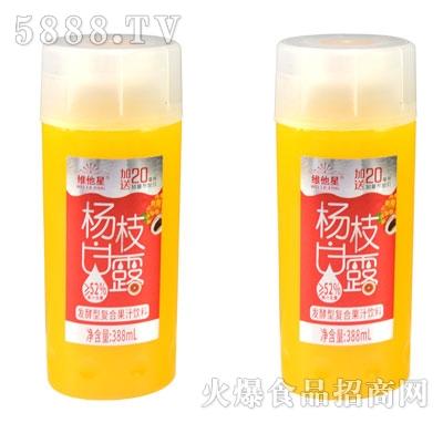 维他星杨枝甘露发酵型复合果汁饮料388ml(瓶)