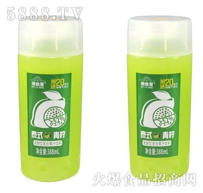 维他星泰式青柠发酵型复合果汁饮料388ml(瓶)