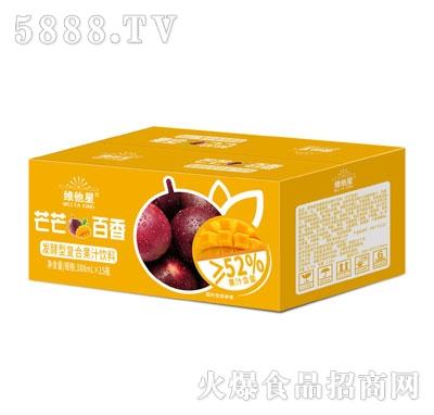 维他星芒芒百香发酵型复合果汁饮料388mlX15