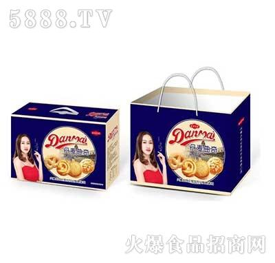 圣特贵族丹麦曲奇饼干箱装1.5kg