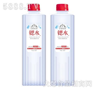 王屋岩泉锶水天然饮用苏打水580ml产品图