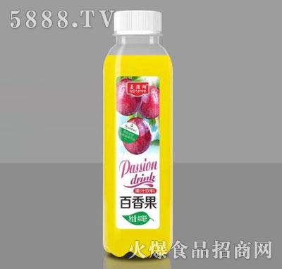 美滋湖百香果果汁饮料480ml