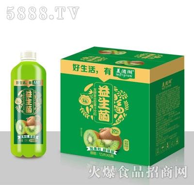 美滋湖益生菌发酵猕猴桃果汁1.5LX6
