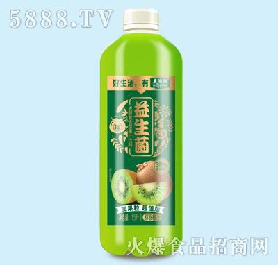 美滋湖益生菌发酵猕猴桃果汁1.5L