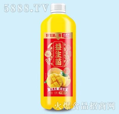 美滋湖益生菌发酵芒果果汁1.5L